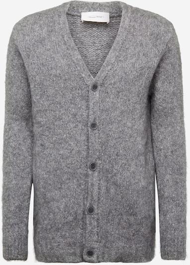 AMERICAN VINTAGE Vestes en maille 'ZAPITOWN' en gris chiné, Vue avec produit