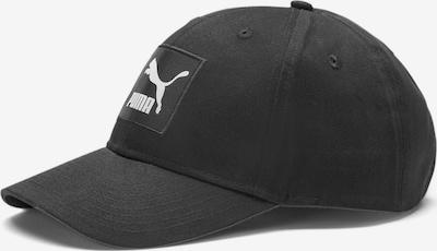 Șapcă PUMA pe negru / alb, Vizualizare produs