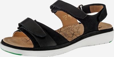 Ganter Sandaal 'Gina' in de kleur Zwart, Productweergave