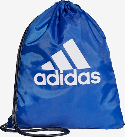 ADIDAS PERFORMANCE Sporttasche in blau / weiß, Produktansicht