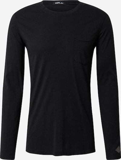 REPLAY Shirt in de kleur Nachtblauw, Productweergave