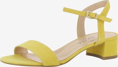 EVITA Sandalen met riem 'Daria' in de kleur Geel, Productweergave