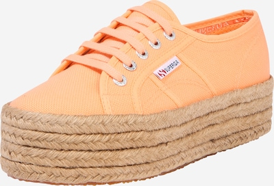 SUPERGA Baskets basses '2790 - COTROPEW' en marron / orange, Vue avec produit