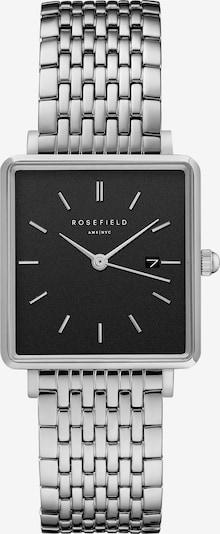 ROSEFIELD Uhr in schwarz / silber, Produktansicht