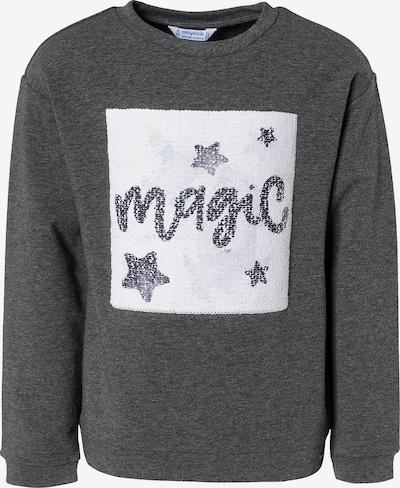 Mayoral Sweatshirt in graumeliert / mischfarben, Produktansicht