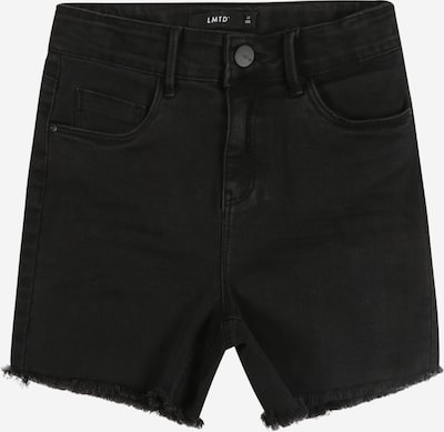 LMTD Shorts in black denim, Produktansicht