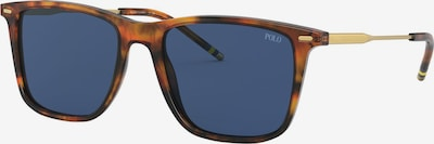 Ochelari de soare POLO RALPH LAUREN pe albastru / maro, Vizualizare produs
