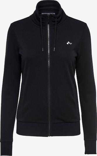 Bluză cu fermoar sport ONLY PLAY pe negru, Vizualizare produs