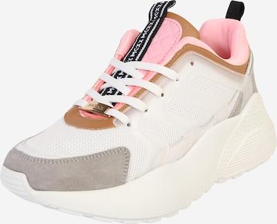 MEXX Sneakers laag 'Eliz' in de kleur Lichtgrijs / Pink / Wit, Productweergave