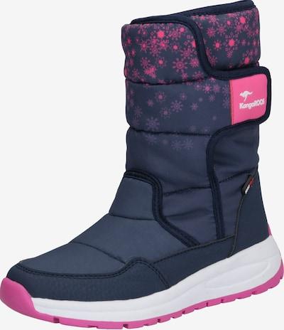 Sniego batai iš KangaROOS , spalva - tamsiai mėlyna / rožinė, Prekių apžvalga