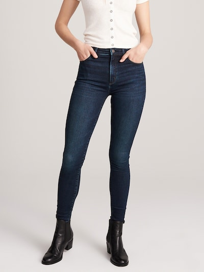 Abercrombie & Fitch Jeans 'SIMONE' in blue denim, Modelansicht