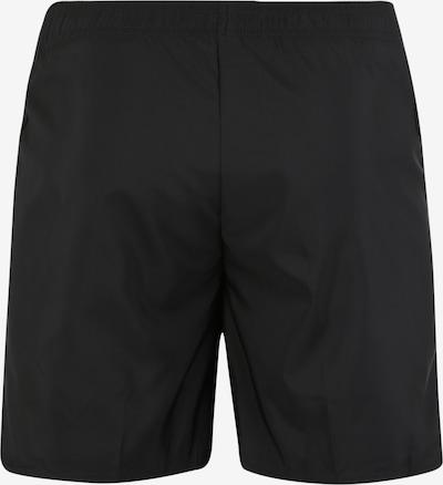 ODLO Pantalon de sport 'ELEMENT Light' en noir / blanc: Vue de dos