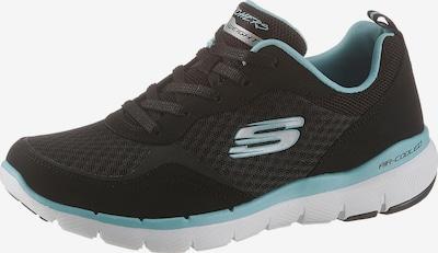 Sportbačiai be auliuko 'Flex Appeal 3.0' iš SKECHERS , spalva - juoda: Vaizdas iš priekio