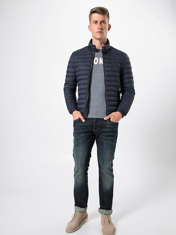 Jacket Veste N Pa' Detachable Marc D'hiver Dow En 'no 100 Bleu O'polo Foncé Hood 08XnPZNOkw