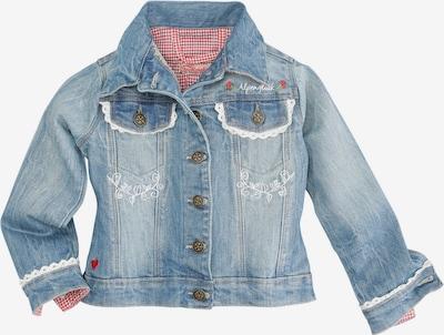 BONDI Jacke in blue denim / weiß, Produktansicht