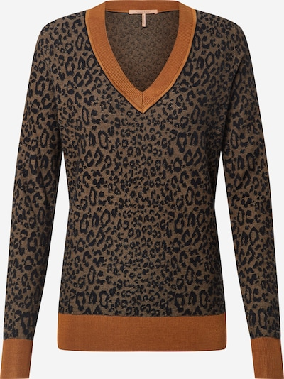 SCOTCH & SODA Pullover in braun / orange, Produktansicht