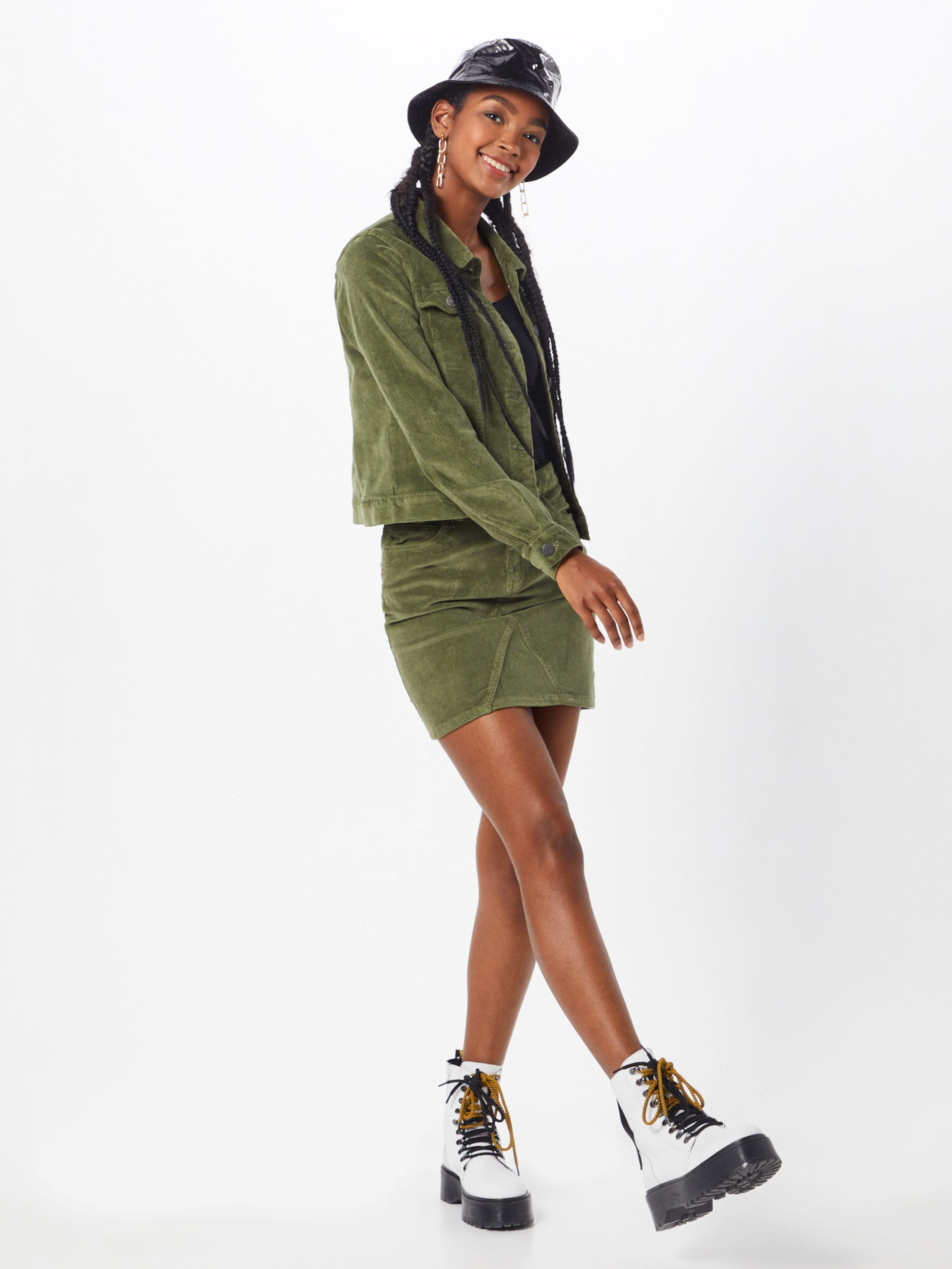 Nw Oliv May Noos' Corduroy Noisy 'nmayla Skirt In Rock tCsQhxrd