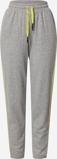 ONLY Pantalon 'MIXIE' en jaune / gris, Vue avec produit