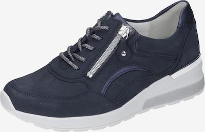 WALDLÄUFER Schnürschuhe in dunkelblau / weiß, Produktansicht