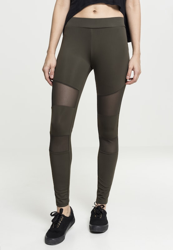 Olive Leggings Urban Classics 'ladies Mech' Tech En 8OnPXk0wNZ