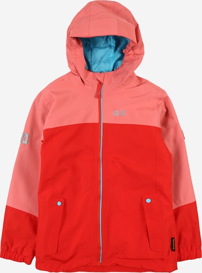 JACK WOLFSKIN Outdoorová bunda 'Iceland' - světlemodrá / starorůžová / melounová, Produkt