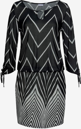 LASCANA Strandkleid in schwarz / weiß, Produktansicht