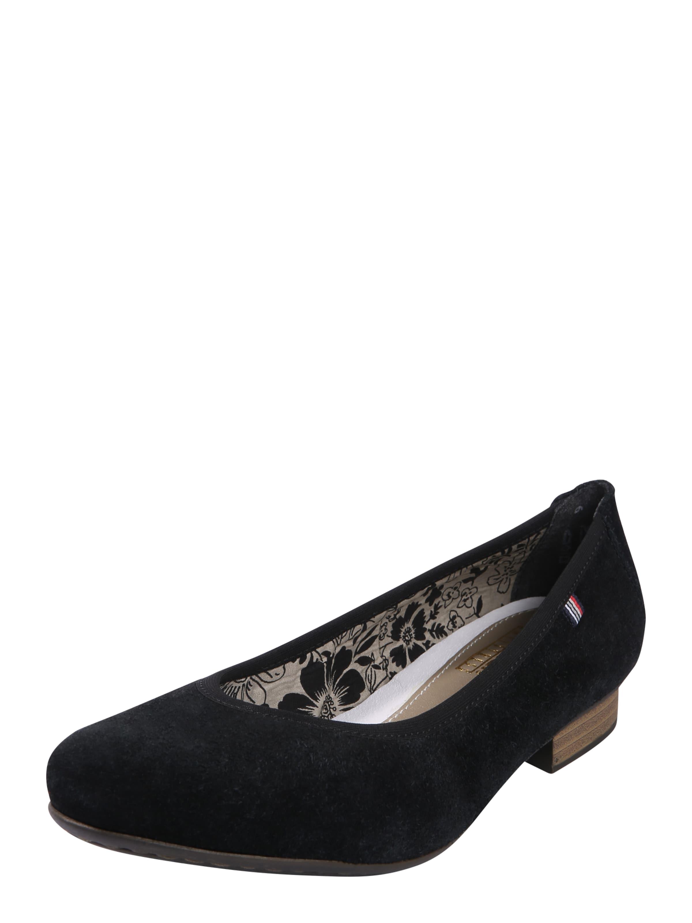 RIEKER Ballerinas mit Rauleder Verschleißfeste billige Schuhe