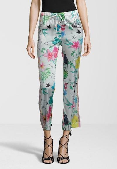 Grace Hose 'FLOWER' in weiß, Modelansicht