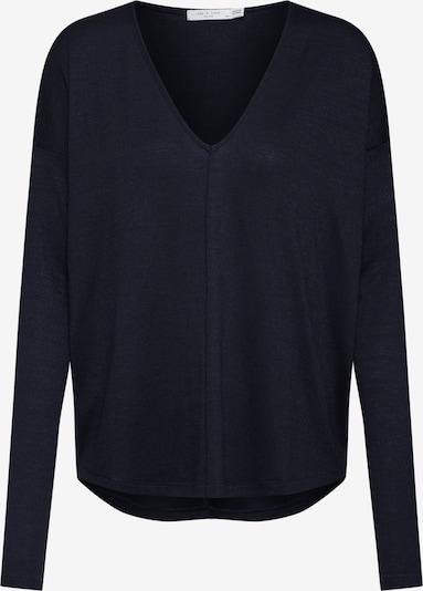 rag & bone T-Krekls 'Hudson V neck' pieejami melns, Preces skats