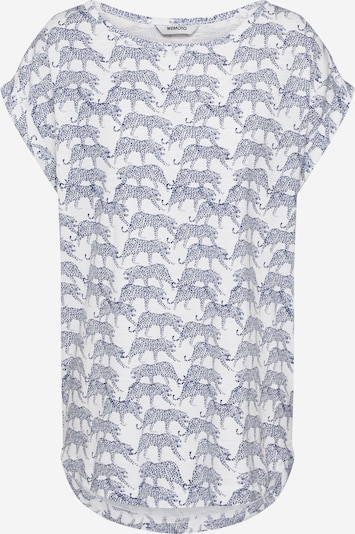 Wemoto Shirt 'HOLLY PRINTED' in navy / weiß, Produktansicht
