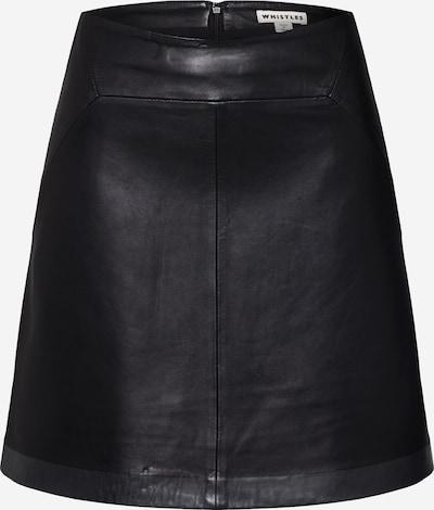 Whistles Lederrock in schwarz, Produktansicht