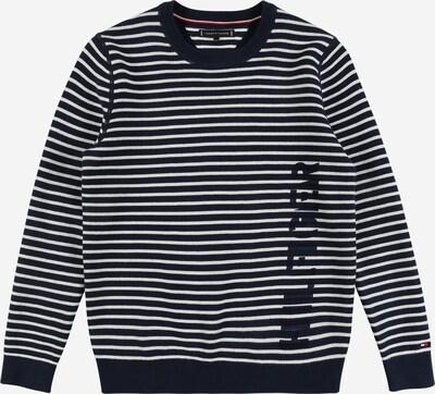 TOMMY HILFIGER Sweater in blau / weiß, Produktansicht