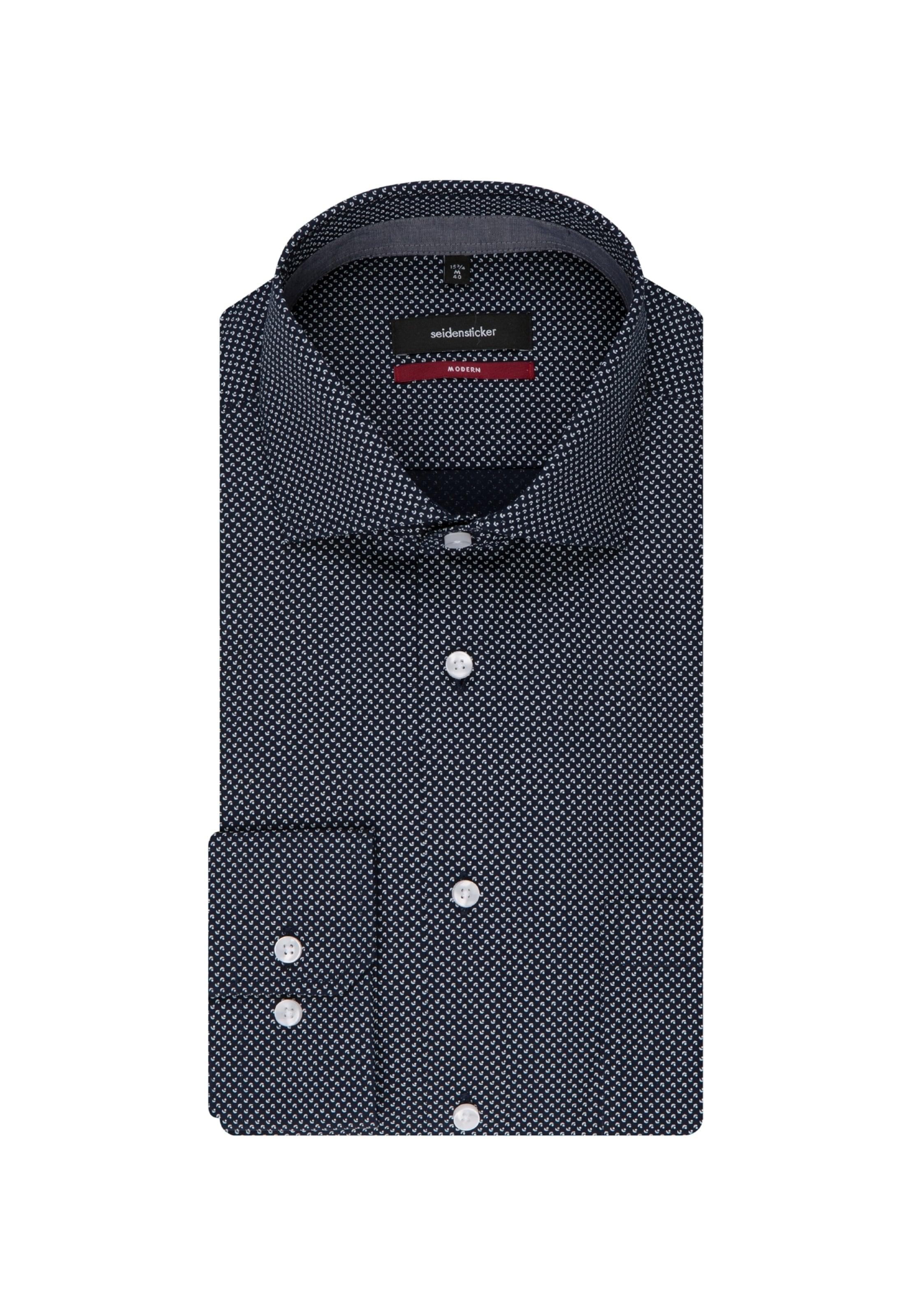 ' In Seidensticker Blau Modern Hemd doxWCBer