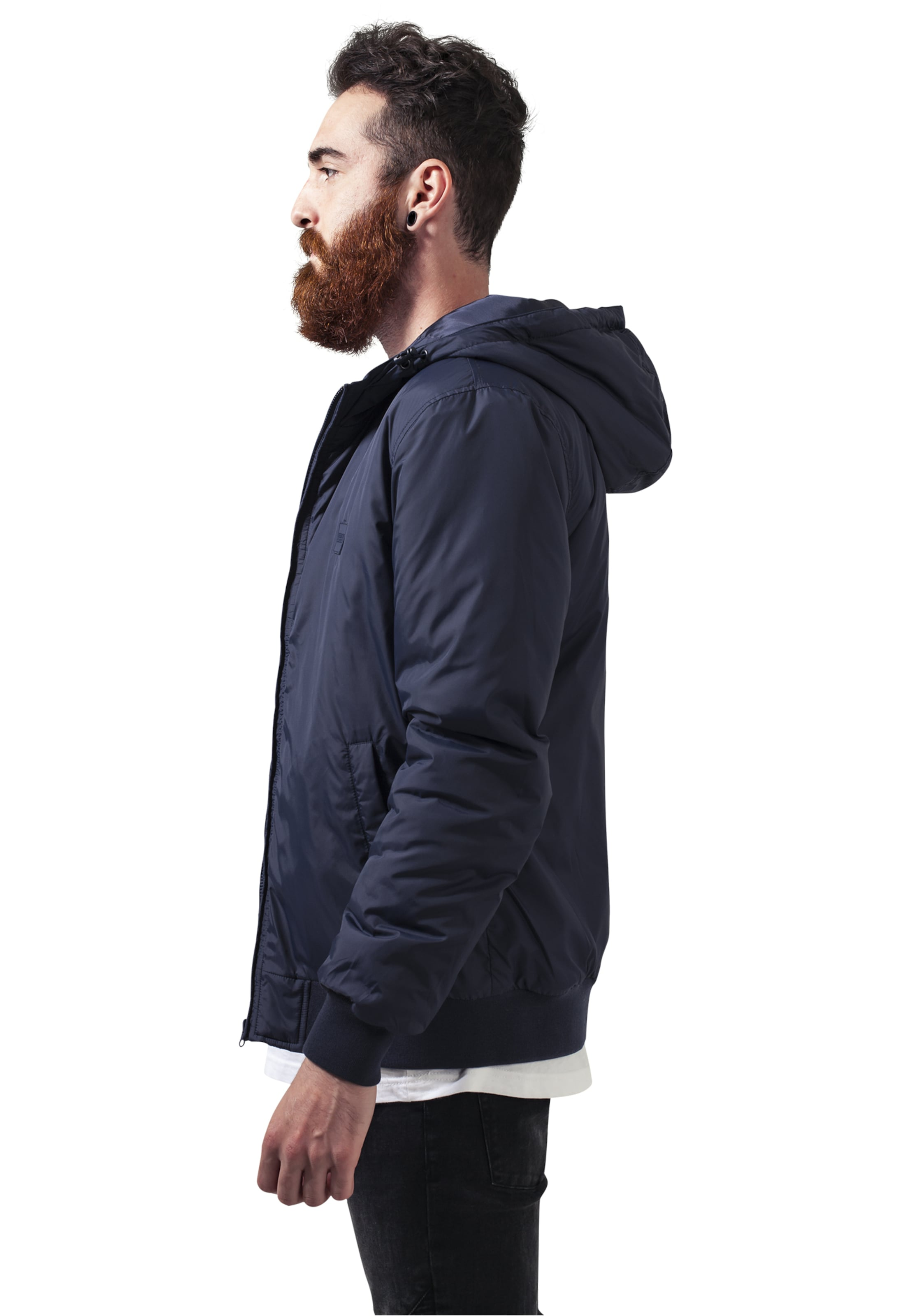 Navy Classics Jacket In Windbreaker Padded Urban EDIH92