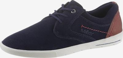 s.Oliver Sneaker in navy / braun, Produktansicht