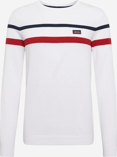 JACK & JONES Pullover in weiß, Produktansicht