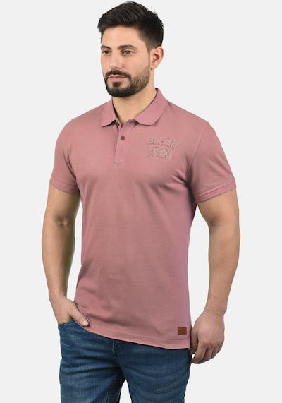 BLEND Poloshirt 'Tadeus' in pink / altrosa: Frontalansicht