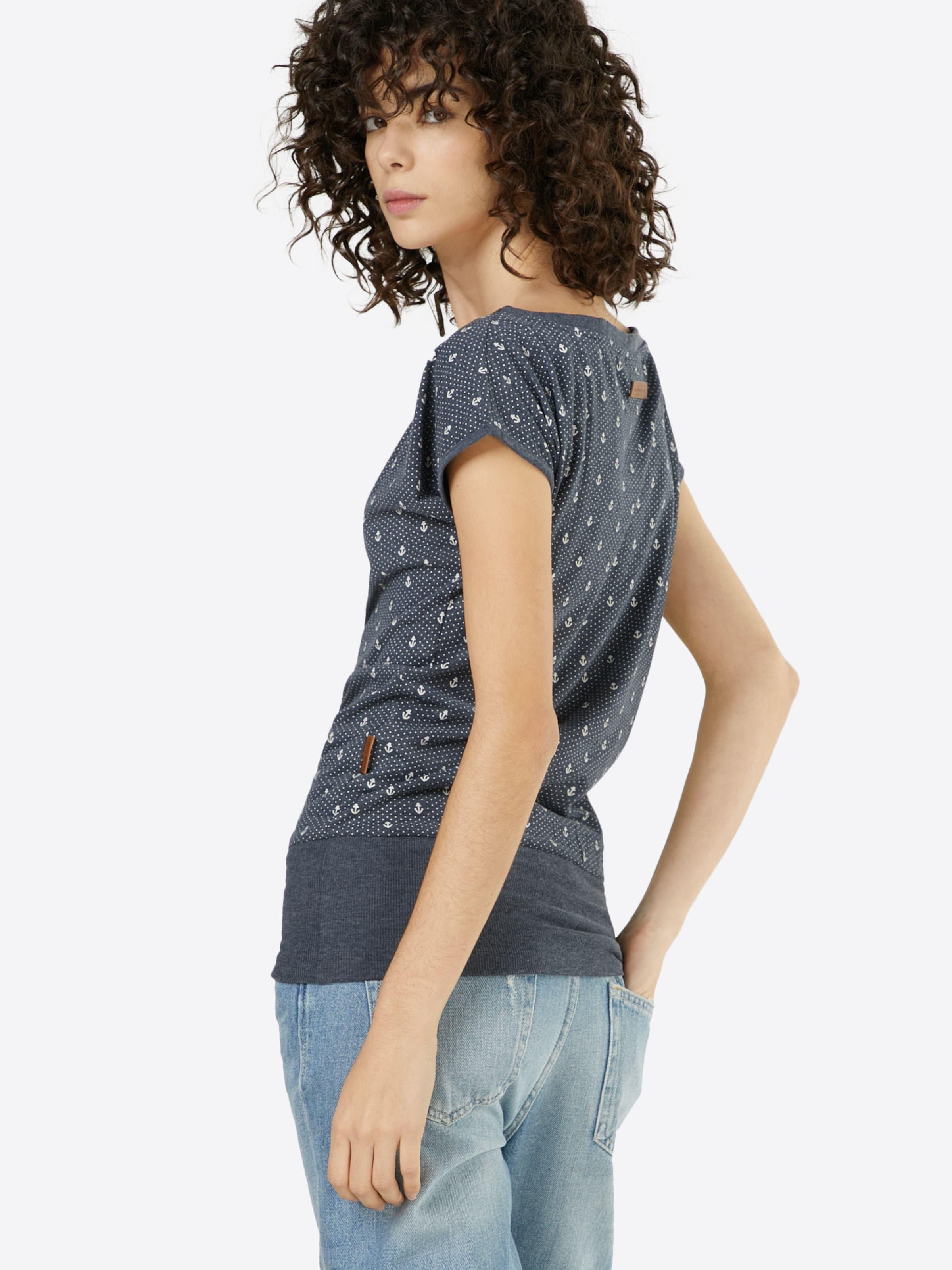 Naketano En Indigo T shirt 'wolle Ankerdizzel' 9IYeW2bEDH