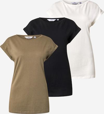 Dorothy Perkins (Tall) Shirt in de kleur Kaki / Zwart / Wit, Productweergave