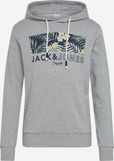 JACK & JONES Sweatshirt 'TROPIC' in grau, Produktansicht