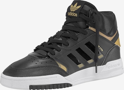 ADIDAS ORIGINALS Sneaker 'Drop Step W' in gold / schwarz, Produktansicht