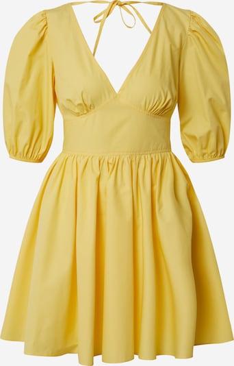 Miss Selfridge Robe 'YLW FNF POPLIN DRESS' en jaune, Vue avec produit