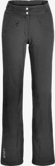 Maier Sports Hose in schwarz: Frontalansicht