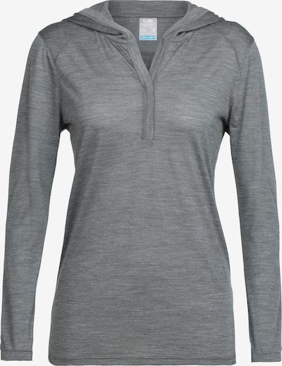 Icebreaker Shirt 'Sphere' in graumeliert, Produktansicht