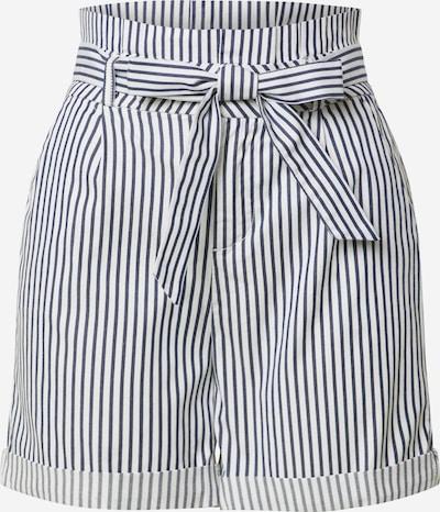 VERO MODA Shorts in blau / weiß, Produktansicht