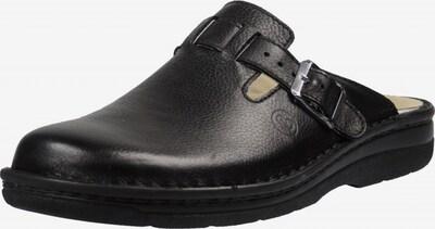BERKEMANN Huisschoen in de kleur Zwart, Productweergave