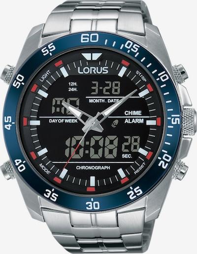 LORUS Uhr 'RW623AX9' in himmelblau / schwarz / silber, Produktansicht
