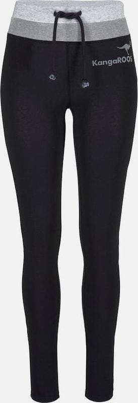 adbe45063a382 KangaROOS Leggings in graumeliert   schwarz   weißmeliert