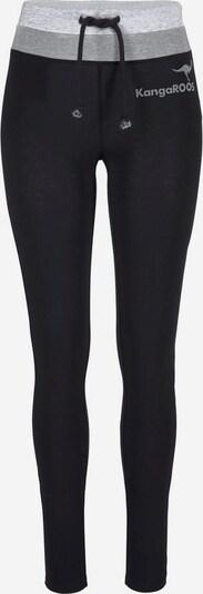 KangaROOS Leggings in graumeliert / schwarz / weißmeliert, Produktansicht
