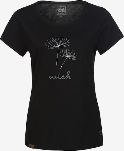 Lakeville Mountain T-Shirt 'Arusha' in schwarz / weiß, Produktansicht